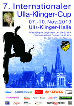 SV Neptun 1910 Aachen e.V. Poster of the 7th Ulla-Klinger-Cup 2019 diving